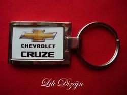 Chevrolet cruze elegant metal keychain