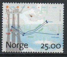 Norway 0008 mi 1212 8,00 euros post office