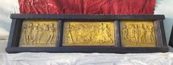 Sződy Szilárd 1920 falikép. 150 cm.