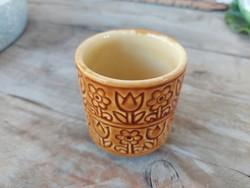 Kispest granite tulip coffee cup, mug, cup, marked, numbered