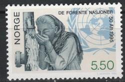 Norway 0012 1995 1.50 euros post office clean