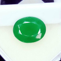 10.22 Cts emerald with natural Colombian certification