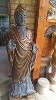 Huge 145cm buddha blessing statue made of stone feng shui japanese garden garden antifreeze stone statue