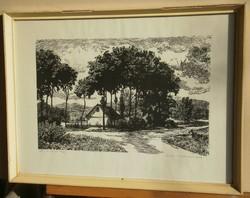 András Csanády (1929-): roadside farm