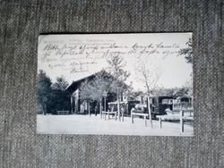 Postcard (Swabian hill, cog railway)