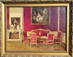 Edvi illés jenő 1943 / castle interior
