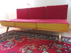 Mid-century tatra nabytok can be converted into a retro sofa chair