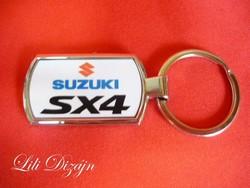 Suzuki sx4 metal keychain