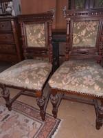 Old German pair of chairs