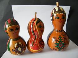 Kézzel festett lopótök figurák