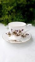 English porcelain violet cup