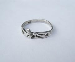 Art Nouveau antique silver ring - 1 ft auctions!