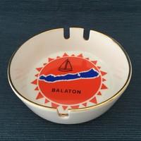 Zsolnay retro hamus, hamutartó, Balaton