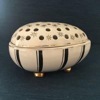 Budapest Porcelán bonbonier, tojás, ékszertartó