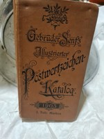 German stamp catalog made in 1905 for sale!