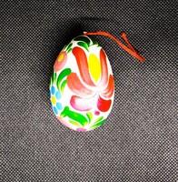 Handpainted egg made in hungary
