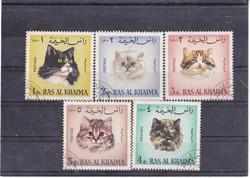 Ras al-khaimah commemorative stamps 1969
