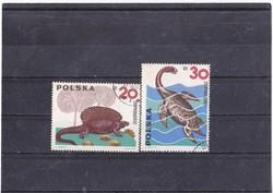Poland commemorative stamps 1965