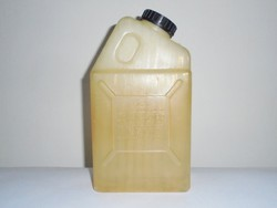 Retro room jaffa syrup - plastic bottle jug with convex inscription - from 1960-1970