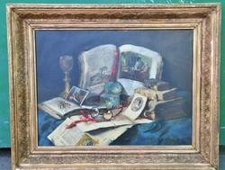 Tibor Idranyi (1896-1979) table still life