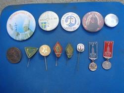 Badge pile cheap!