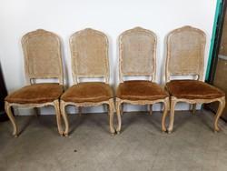 Barokk székek 4 db