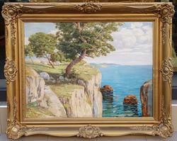 Paul Ruzicska: Mediterranean detail, 60x80 cm.