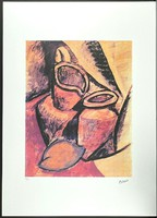 Pablo picasso with proof of origin - no halving offer at discount!