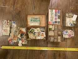German, Swiss, and other stamp mixx