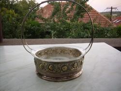 Asztalközép gyümölcskínáló kosár