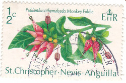 Saint Kitts and Nevis commemorative stamp 1971