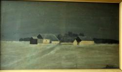 Berenyi oil painting