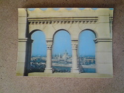 Old three-dimensional postcard