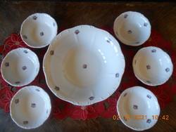 Zsolnay porcelain compote set