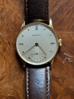 Zenith 18 carat gold watch for sale!