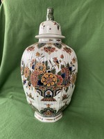 Colorful delft faience vase