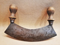 Antique Carbon Steel Swing Knife / Spice Knife / Vegetable Chopper Knife