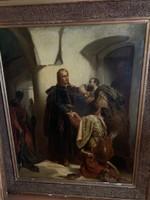 """Benczúr Gyula Hunyady László """"Bucsuja"""""""