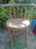 Antik thonet jellegű karfás szék, paraszti szék