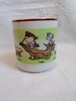 Zsolnay porcelain mug (water spider wonders)