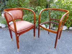 2 pcs thonet / g. Siegel chair.
