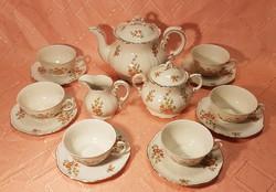 ZSOLNAY 6 személyes kávéskészlet, hibátlan állapotban!