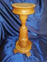 Pedestal flower holder sculpture holder made of solid wood