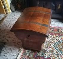 Antique inlaid chest