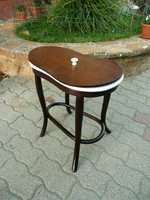 Curiosity! Original antique thonet female intimate washbasin with flawless marked faience