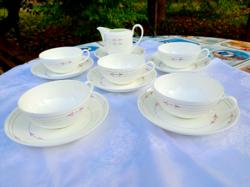 Villeroy & boch porcelain tea set, 12 pcs