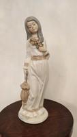 Spanish colorful porcelain figurine.