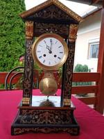 Empir (boulle) antique clock