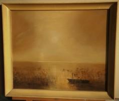 Balogh ervin (1925-2019): Twilight at Lake Balaton