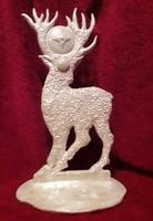 Deer home altar - ceramic fire sculpture